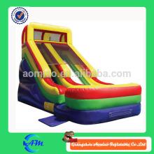 Diapositiva inflable de la diapositiva seca inflable de la alta calidad shiping rápida