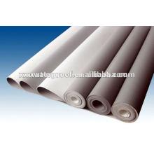 Membrana impermeável em PVC para a construção