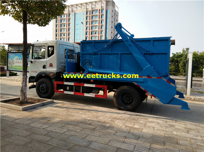 10000L Swing Arm Garbage Trucks