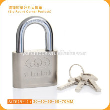 Wholesale Nickle Plated Iron Padlock