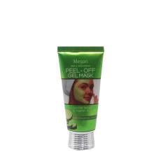 tube d'affiche en plastique personnalisé d'emballage de tube de 50ml cosmétique en aluminium pour le masque