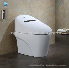 CB-707 Gold fournisseur électronique intelligente automatique opération intelligente toilettes