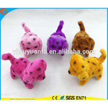 Hot Sell Various Design Black Spot Walking Electric Stuffed Puppies