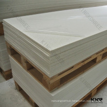 KKR decorative solid surface ,white faux brick wall panels