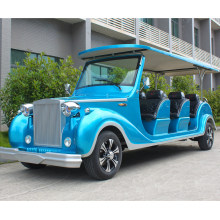 Electric Classic Vehicle 12 Seater 48V/5kw Low Speed Car