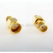 Connecteurs d'adaptateurs RF de câble coaxial pas cher professionnel