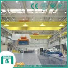 Capacité de grue de pont d'équipement de levage 150 tonnes à 160ton