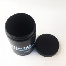 100% pcr recycled plastic jar 16oz 32oz matt black cream PCR Jar