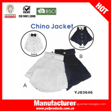 Fashin Chino Dog Jacket, Brand Dog Clothes (YJ83646)