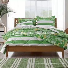 100% cotton printed comforter set