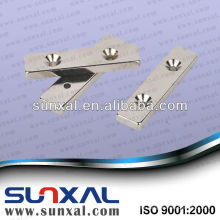 ndfeb magnet with two holes for wind turbine generator