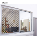 Aluminium casement doors windows with screen in china