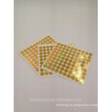 Anti falsificación láser holográfico 3D Etiqueta de seguridad