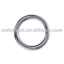 O anel de metal