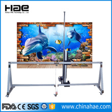 Vertical Wall Inkjet Mural Printer