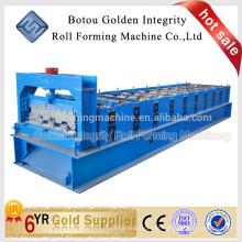 Máquina de fabricação de rolo de deck de piso popular, máquina de fazer deck