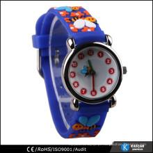 Relógio de pulso de crianças pulseira 3D, relógios por atacado chinês
