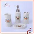 Acessórios de banho de cerâmica novos produtos