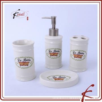 Accessoires de toilette en nouveaux produits en céramique