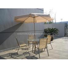 Inclinaison extérieure Rabat Design manivelle parapluie