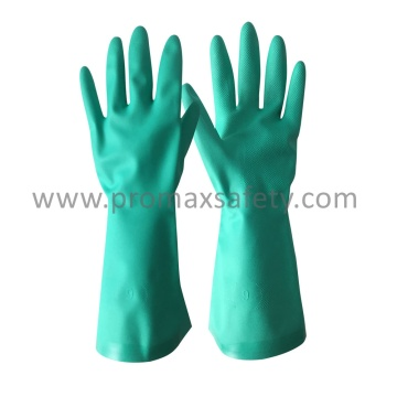11mil Industrial Green Nitrile Glove