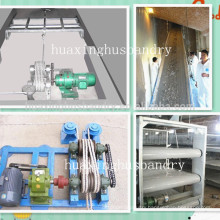 High efficient chicken manure removal machine for sale