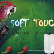 BOPP+EVA Soft Touch Matt Thermal Laminating Film Like Skin Touch