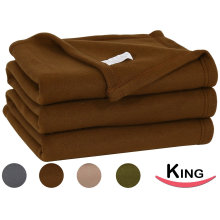 Super Soft Fleece Throw Blanket