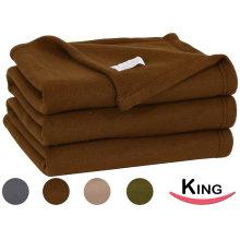 Cobertor do lance do velo super macio