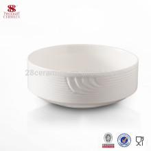 Ensaladera de cerámica de diseño popular al por mayor