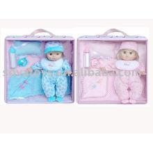 906990501 boneca engraçada para bebê, boneca popular, 11 polegadas bebê conjunto de boneca