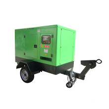 Trailer Power Diesel Generator set Silent Type 280kW