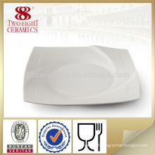 Ceramic dinnerware 10.5 ceramic heated square dinner plate