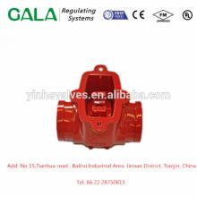 Alta qualidade OEM metais casting verificar válvula corpo vazamento de gás