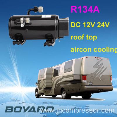 Automotive a c parts r134a brushless dc compressor 24v 72v for Air compressor for pool closing