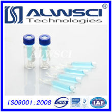 Factory sale glass inserts for 2ml glass bottle Agilent autosampler vials