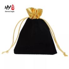 High-end large velvet shoe bags