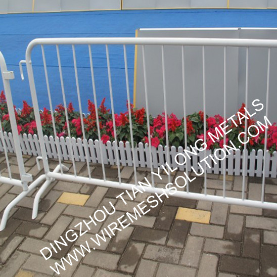 Crowd control panel fencing
