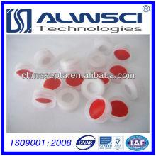 Capuchon en plastique antibrouillable 2014 11 mm et Septa en silicone PTFE