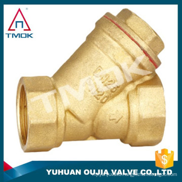 TMOK 2'' heavy duty brass strainer y pattern strainer with stainless steel 304 filter for water pumb