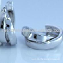Boucles d'oreilles en acier inoxydable sans allergie pour femmes