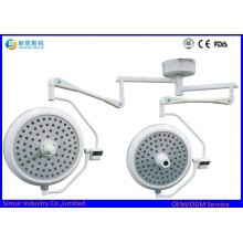 LED Shadowless Overhead Medical Doppelte Dome Bedienlicht / Lampe