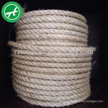3-нить поворот натурального джута веревка