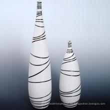 Nuevo vaso de cerámica de la etiqueta de encargo para la decoración casera