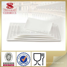 wholesale hotel used dinner plates with all size , white big platter