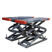 Small middle platform scissor car lift both side extension with CE certification