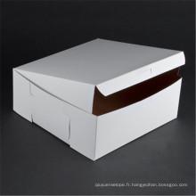 Impression faite sur commande de boîte d'emballage de papier de boîte à pizza