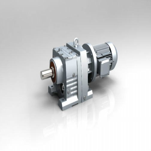 Helical Hard Tooth Surface Gearmotor Flange Arrange