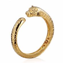 Wholesale haute qualité mens en acier inoxydable tigre modèles bracelets