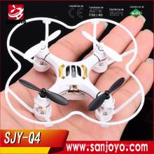 Factory Drone SJY-Q4 2.4Ghz 4CH Mini Rc juega 4 en 1 drone de alta calidad vendedor caliente